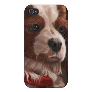 Cavalier King Charles Spaniel Cover For iPhone 4