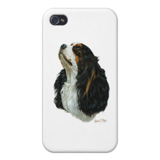 Cavalier King Charles Spaniel Covers For iPhone 4
