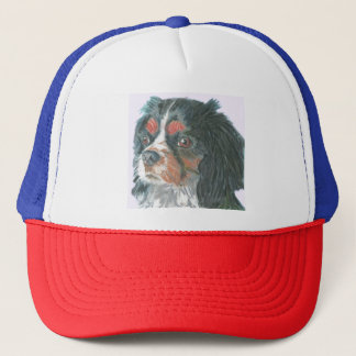 Cavalier King Charles Spaniel Cup Trucker Hat
