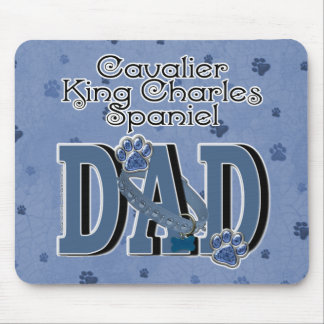 Cavalier King Charles Spaniel DAD Mouse Pad