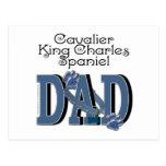 Cavalier King Charles Spaniel DAD Post Cards
