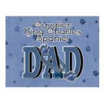Cavalier King Charles Spaniel DAD Postcards
