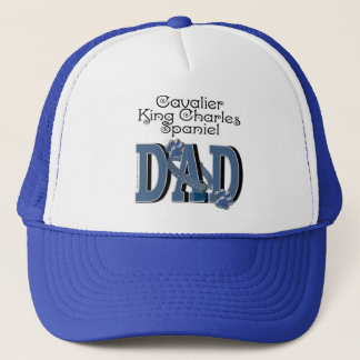 Cavalier King Charles Spaniel DAD Trucker Hat