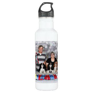 Cavalier King Charles Spaniel - Darlin DeeDee Tiff Stainless Steel Water Bottle