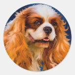 Cavalier King Charles Spaniel Dog Art - Chelsea Stickers
