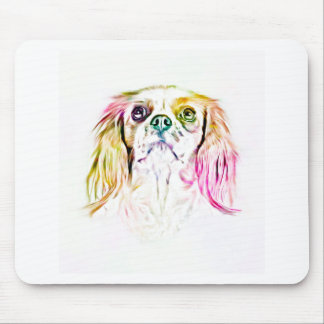 Cavalier King Charles Spaniel Dog Art Painting Mouse Pad