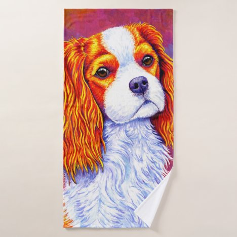 Cavalier King Charles Spaniel Dog Bath Towel
