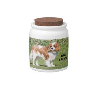 Cavalier King Charles Spaniel dog beautiful photo Candy Jar