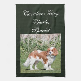 Cavalier King Charles Spaniel dog beautiful photo Hand Towel