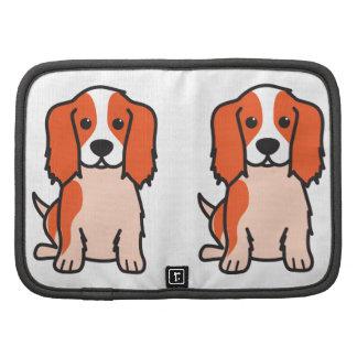 Cavalier King Charles Spaniel Dog Cartoon Planners