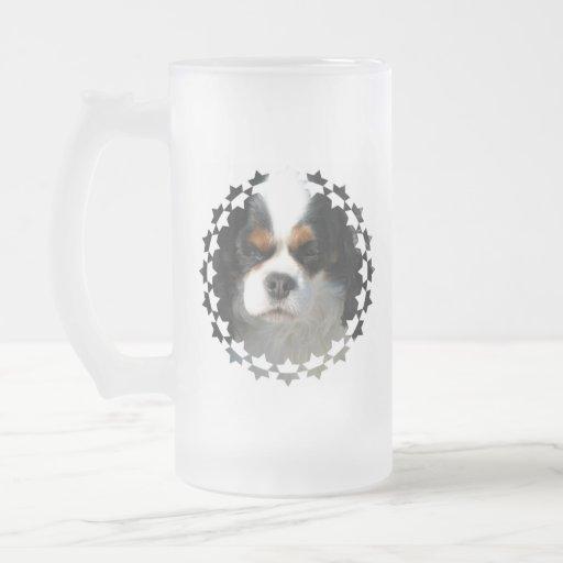Cavalier King Charles Spaniel Dog Frosted Beer Mug