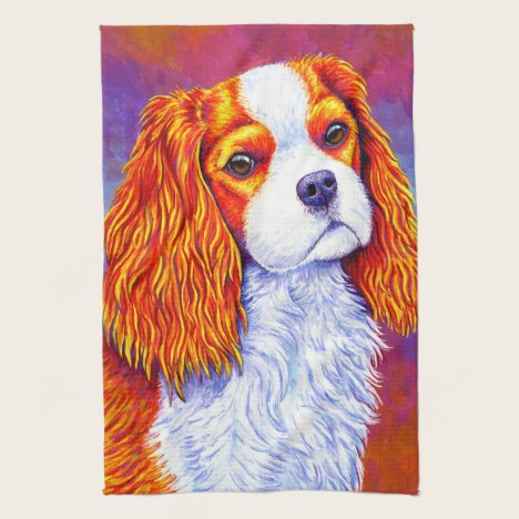 Cavalier King Charles Spaniel Dog Kitchen Towels