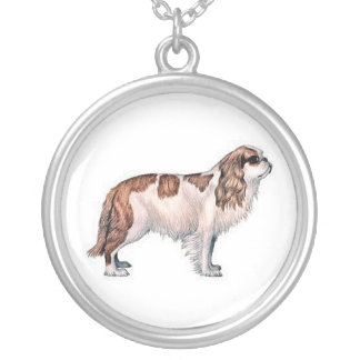 Cavalier King Charles Spaniel Dog Necklace