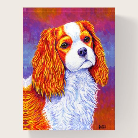 Cavalier King Charles Spaniel Dog Paperweight