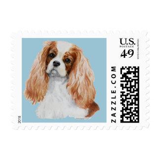 Cavalier King Charles Spaniel Dog Postage Stamp