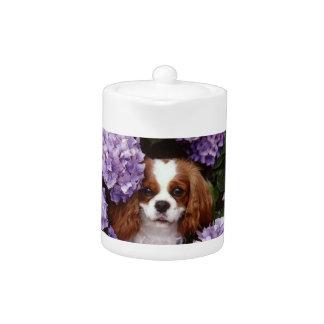 Cavalier King Charles Spaniel Dog Teapot
