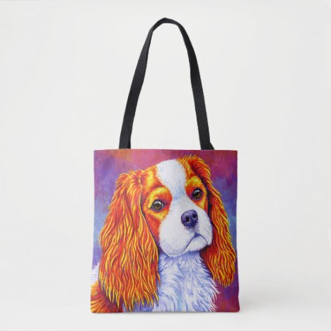 Cavalier King Charles Spaniel Dog Tote Bag