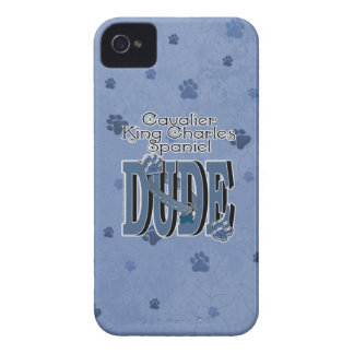 Cavalier King Charles Spaniel DUDE iPhone 4 Case-Mate Case