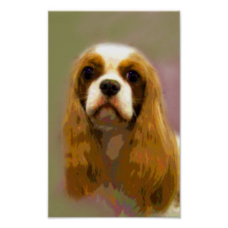 Cavalier King Charles Spaniel Fine Art Prints Posters