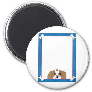 Cavalier King Charles Spaniel Frame Refrigerator Magnets