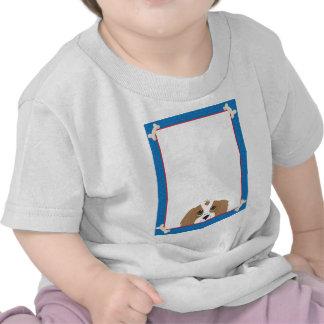 Cavalier King Charles Spaniel Frame Tee Shirts