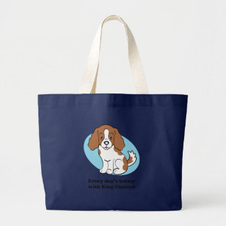 Cavalier King Charles Spaniel Gifts Tote Bags