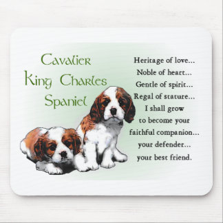 Cavalier King Charles Spaniel Gifts Mouse Pad
