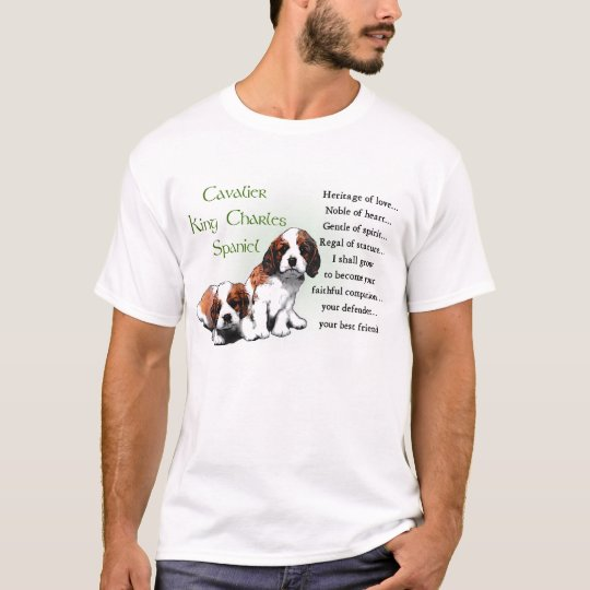 Cavalier King Charles Spaniel Gifts T-Shirt