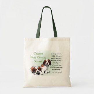 Cavalier King Charles Spaniel Gifts Tote Bag
