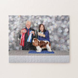 Cavalier King Charles Spaniel - Holly Jigsaw Puzzle