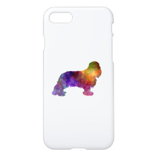 Cavalier King Charles Spaniel in watercolor iPhone 7 Case