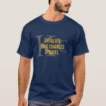Cavalier King Charles Spaniel Initials Shirt