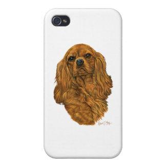 Cavalier King Charles Spaniel iPhone 4 Case