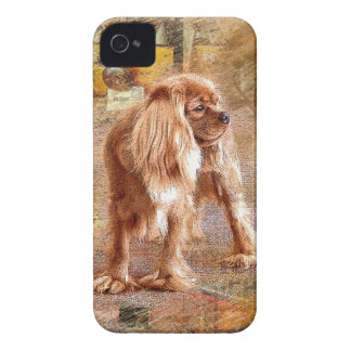 Cavalier King Charles Spaniel iPhone 4 Case