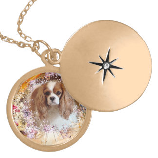 Cavalier King Charles Spaniel Locket Necklace