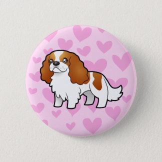 Cavalier King Charles Spaniel Love Button