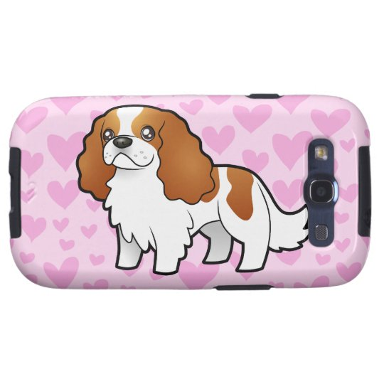 Cavalier King Charles Spaniel Love Galaxy S3 Case