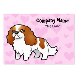 Cavalier King Charles Spaniel Love Large Business Cards (Pack Of 100)