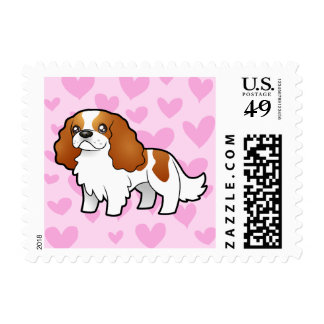 Cavalier King Charles Spaniel Love Postage Stamps