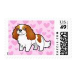 Cavalier King Charles Spaniel Love Stamp