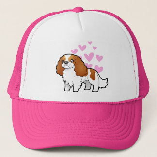 Cavalier King Charles Spaniel Love Trucker Hat