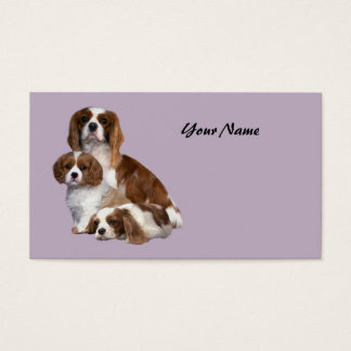 Cavalier King Charles Spaniel Lover Business Car Business Card