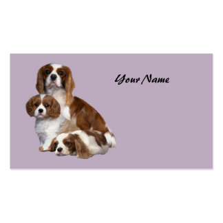 Cavalier King Charles Spaniel Lover Business Car Double-Sided Standard Business Cards (Pack Of 100)