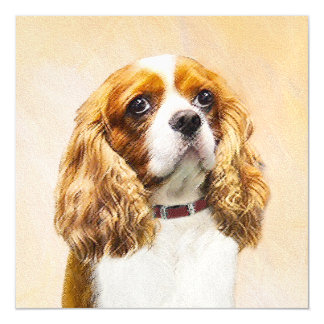 Cavalier King Charles Spaniel Magnetic Card