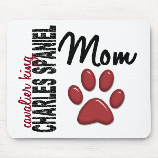 Cavalier King Charles Spaniel Mom 2 Mouse Pad