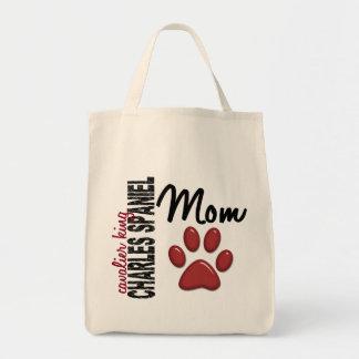 Cavalier King Charles Spaniel Mom 2 Tote Bag