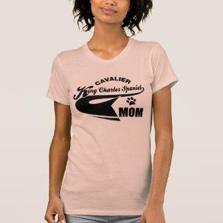 Cavalier King Charles Spaniel Mom Tshirts