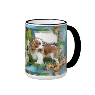 Cavalier King Charles Spaniel Ringer Coffee Mug