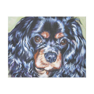 Ruby Cavalier King Charles Spaniel Art   Wall Décor  1fdfcacdf9