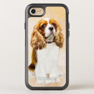 Cavalier King Charles Spaniel OtterBox Symmetry iPhone 8/7 Case